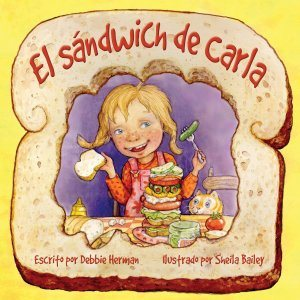 creativity, peer pressure, food, sharing, teasing, individuality, sandwiches, combinations, unique, bullying, teacher, school, social cooperation, nutrition, diet, making fun, confidence, food combinations and pairings, picky eaters, fairness, caring, respect, spanish, el sandwich de carla